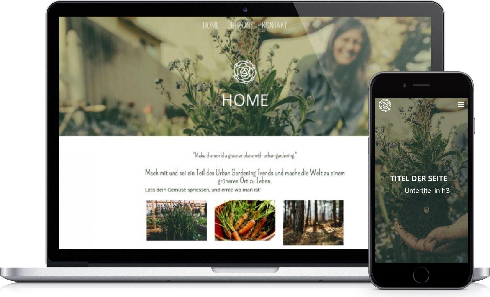 homepage creator